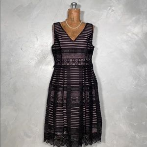 NWT Modcloth Lace Overlay Dress Vintage Inspired